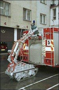 Robot ve službách hasičů 2