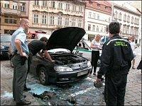 Peueot. Řidič vozidla z výkonu svého automobilu nebyl příliš nadšený. Foto: Milan Pacík