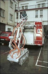 Robot ve službách hasičů 1