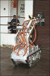 Robot ve službách hasičů 3