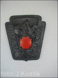 Znak HS na Oblastním domě HS Bedřichov