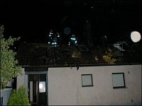 Požár střechy Petříkov. Foto J.Sekyra SDH Těptín