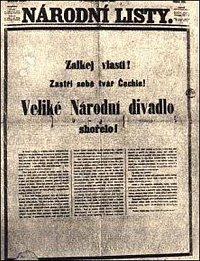 Zvláštní vydání Národních listů ze 13. srpna 1881 Zdroj: http://www.bezzaruky.cz/nd.html