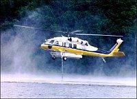 S-70A-Firehawk čerpání vody