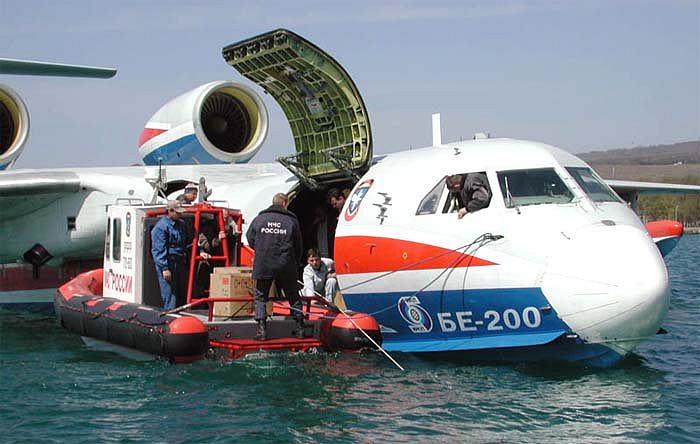 Летучий корабль Бе-200: Таганрог поставил гидросамолеты на поток