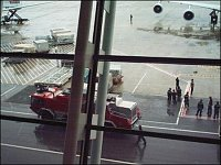Hasiči na letišti