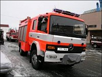 CAS na podvozku Mercedes Atego 4x4 pro HZS Moravskoslezského kraje