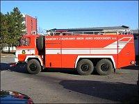 T815 CAS-32 2.výjezd, druhá Tatra je stejná, ale pouze pro podnik a nemá lištu