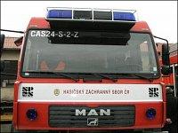 CAS 24 pro HZS ČR - detail předsunuté výstražné rampy
