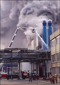 Výbuch v provozu polymerace