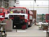č.8 – Druhá T815 6x6 CAS-40 v dílnách firmy THT v Poličce, kde jsem byl tři dny před návštěvou HZSP