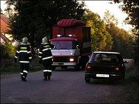 Fotografie z druhého ohniska vzniklého díky kanalizaci. Fotgrafie zaslal JAN FLAŠKA z Jihlavy.