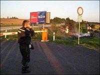 Fotografie z druhého ohniska vzniklého díky kanalizaci. Fotografie zaslal JAN FLAŠKA z Jihlavy.