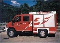 Vůz určený pro rakouské hasiče v Vorarlbergu od firmy EMPL.