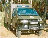 SCAM pro polskou armádu, která plánuje nákup šedesáti vozidel. Sanitní nástavbu vyrábí polská firma