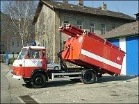 Avia nosič kontejnerů HZS ČD Ústí nad Labem