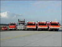Vozový park letiště Frankfurt