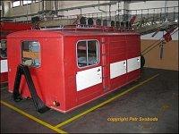 Chemický kontejner vlastní výroby HZS Říčany