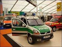 policejní vozidlo od firmy Pütting