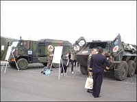 sanitní vozidla Bundeswehru