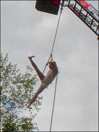 Akrobatka na laně pod DL L 32 CAN-Bus/Metz