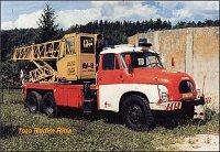 Tatra 138 6x6 AV-8, ČKD Slaný, SDH Vyšší Brod, okr.Český Krumlov