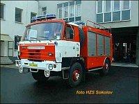 Tatra 815 4x4 TA-4 s HR HIAB, Karosa, HZS Karlovarského kraje, stanice Sokolov