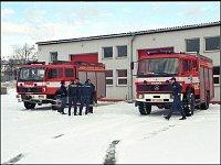 Oba ,,Meďáky,, při slavnostním otevření HS 1 Praha-Chodovská/12/2001