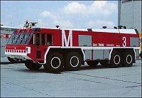 FLF Flughafenfeuerwehr Mnichov