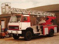 AZ 30 před předáním českým hasičům - foto z knihy Import-Fahrgestelle/Frank-Hartmut Jäger/SRN