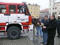 křest Tatry provedl starosta města společně s ředitelem HZS ZLK