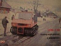 Lavina PL 800 - foto: Požární ochrana/Jaromír Dočkal