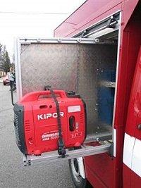 elektrocentrála Kipor 2.6 kW