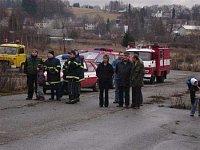 starostka Volar, velitel místních hasičů a...Hynek Obroučka