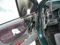 požár Renaultu Scenic ze dne 22.3.2007