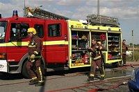 Londýnský Mercedes s nástavbou TVAC a komponety AS Fire a PAC