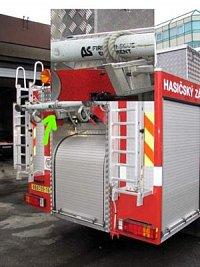 Dennis Rapier s nástavbou JDC/repase SPS a komponety AS Fire a PAC