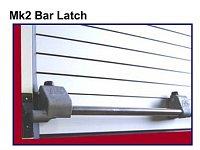 roletový uzávěr Mk2 Bar Latch