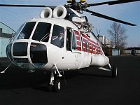 """Vrtulník Mi-8 B-8733 patřící Policii ČR letecké službě, foto Ondřej Franěk, <a href=""""http://www.zach"""