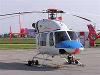 Bell 427 OK-EMI patřící Alfa Helicopter. Vrtulníky této firmy působí v současné době ze stanovišť LZ