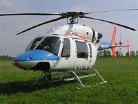 Bell 427 OK-EMI slouží na stanovišti LZS v Olomouci. Foto Pavel Nehybka