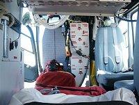 """Vnitřek zdravotnické zástavby v policejním EC-135T2 , foto Ondřej Mrňávek, <a href=""""http://www.zachr"""