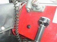 ovládání podtlakovek z místa velitele vozu