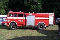 repasovaný Trambus hasičů ze Žebráku