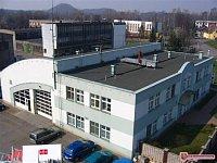 Pohled na budovu IVC z příjezdové strany