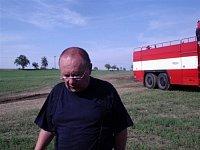 velitel kolovratských dobrovolných hasičů pan Burda