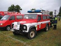 RZA Land Rover Defender SDH Kamenice - Těptín