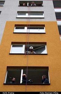 požár bytu, ul. Werichova