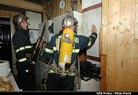 požár bytu, ul. Korunní