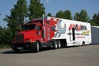 Prezentační kamion fy Alfavaria